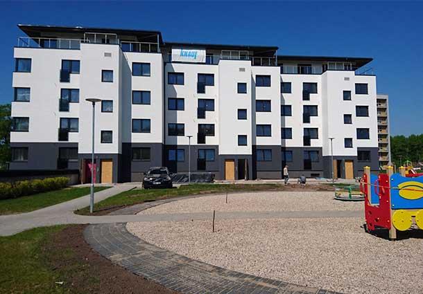 Pirmojo Lietuvoje A+ daugiabučio sandarumo bandymai (First A + multi-apartment tightness testing in Lithuania)