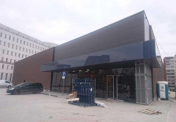 Prekybos centro sandarumo patikrtinimas (Checking the tightness of the shopping center)
