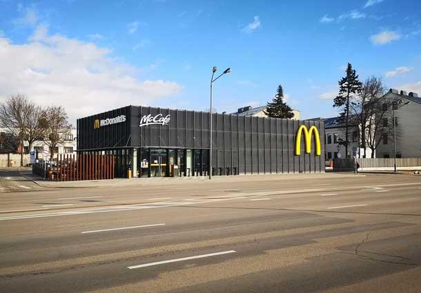 McDonalds's sandarumo bandymas (McDonalds's tightness test)