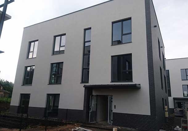 A+ daugiabučių namų kvartalo sandarumo bandymai (A + tightness testing of block of flats)